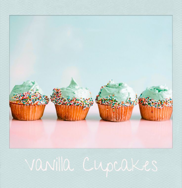 #Vanilla #Cupcakes. #PolaroidFx #Polaroid #Sweet #Candy #Food #Muffins #Cake #Sugar #Handmade #Cook #Pastry #Yummy