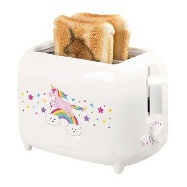 Broodrooster unicorn / unicorn toaster via Xenos.nl