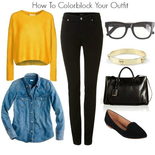 How To Colorblock Your Outfit | STYLE'N