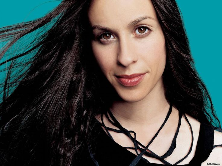 Alanis Morisette - Saw her on tour with BNL, her duet with them was amazingly harmonized