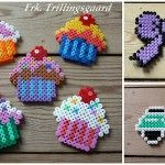 love the cupcakes! - great ideas for perler beads.. gonna have to get my girl some soon