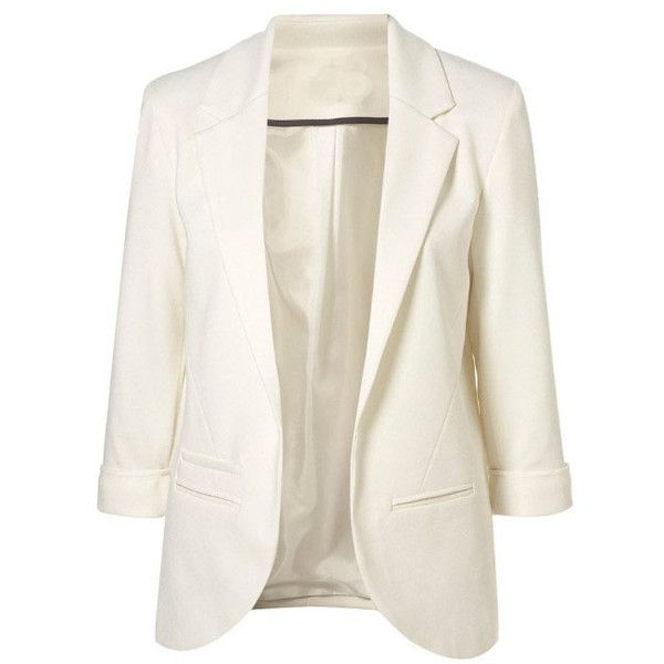 White Boyfriend Ponte Blazer with Rolled Sleeves Suit ($47) ❤ liked on Polyvore: Light Pink Blazers, Candy Colors, White Blazers, Style, Sleeve Blazers, Boyfriends Pont, Boyfriends Blazers, Rolls Sleeve, White Boyfriends