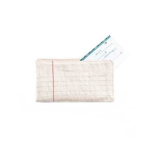 Notebook Paper checkbook cover