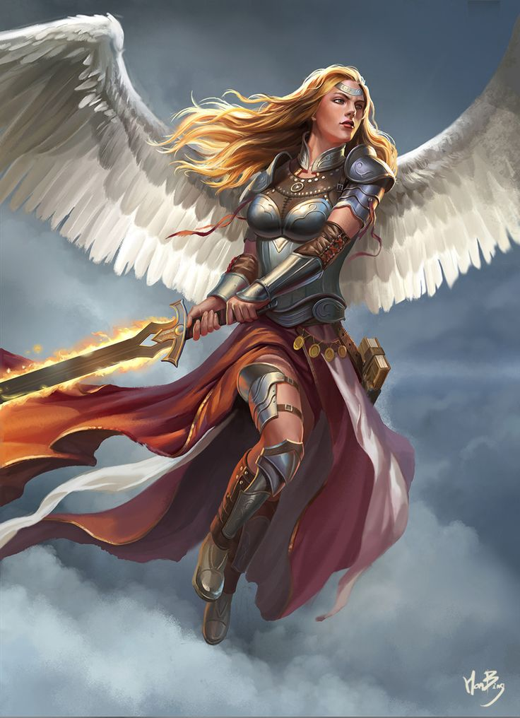 female angel warrior pictures - photo #17