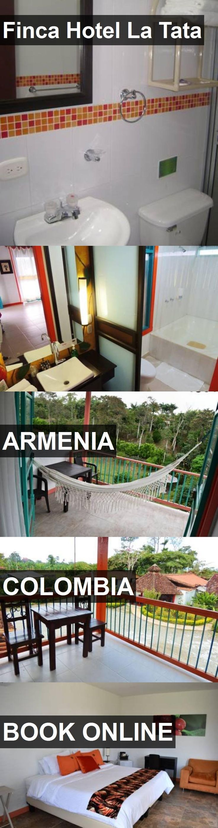 Finca Hotel La Tata in Armenia, Colombia. For more information, photos, reviews and best prices please follow the link. #Colombia #Armenia #travel #vacation #hotel