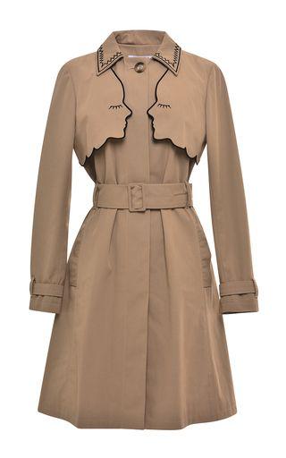 Camel Narciso Trench Coat by VIVETTA for Preorder on Moda Operandi
