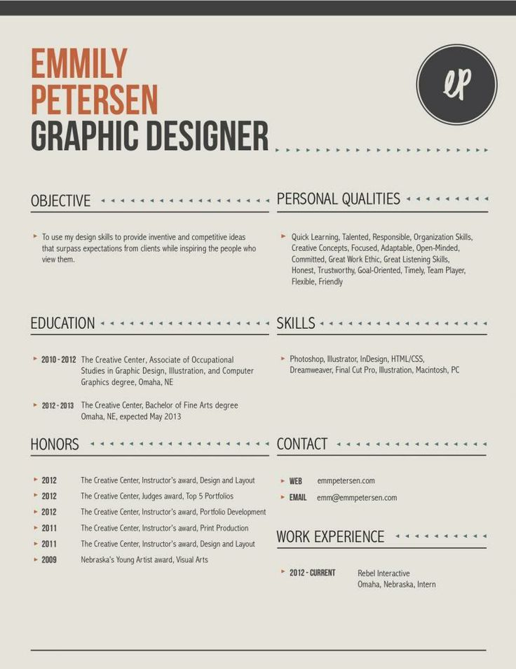 7 best Effective Fashion Resumes images on Pinterest Creative cv - fashion stylist resume