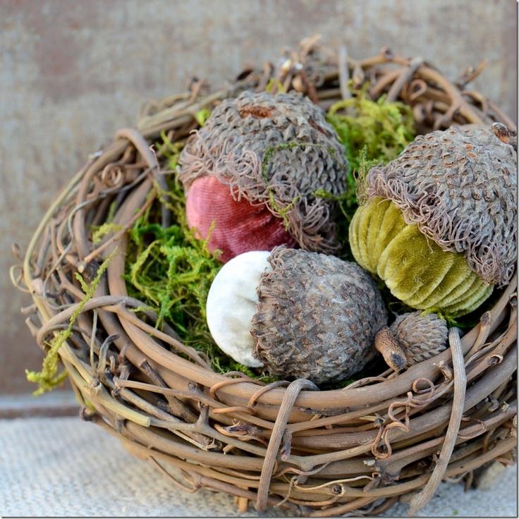 ❥ velvet acorns