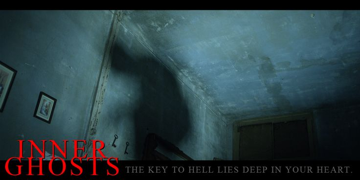 The lights we used on this scene were especially designed for the film. #innerghosts #horror