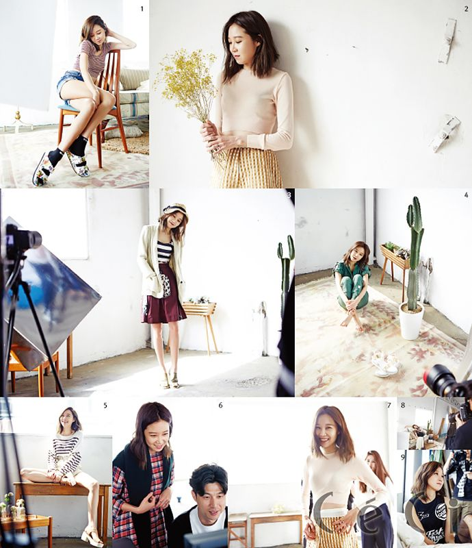 More Of Gong Hyo Jin For CéCi's June 2015 Issue | Couch Kimchi