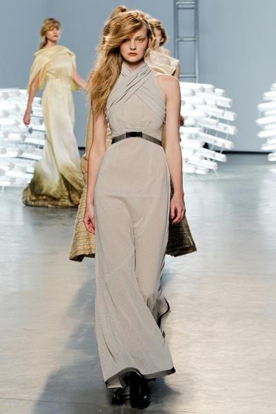 Rodarte Fall 2011 Collection/Model: Caroline Trentini