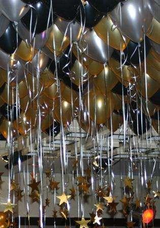 Coloured Balloon Arrangements 7 Balloons