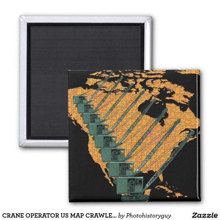 CRANE OPERATOR US MAP CRAWLER CRANE  OPERATOR