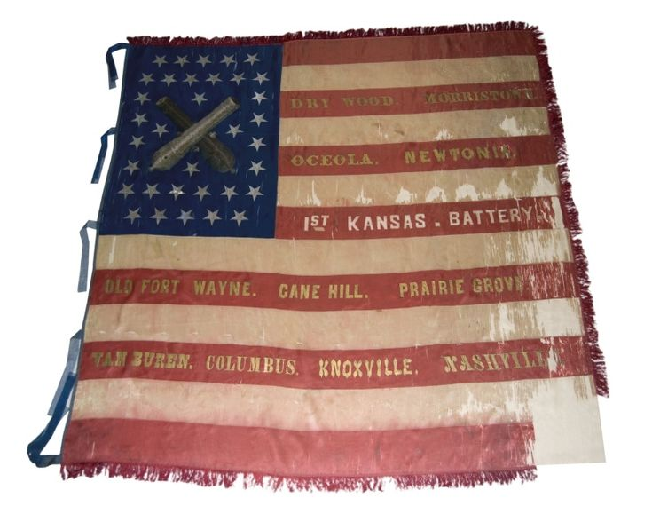 Missouri Civil War Flags | Cool Things - Civil War Battle Flags - Kansapedia - Kansas Historical ...