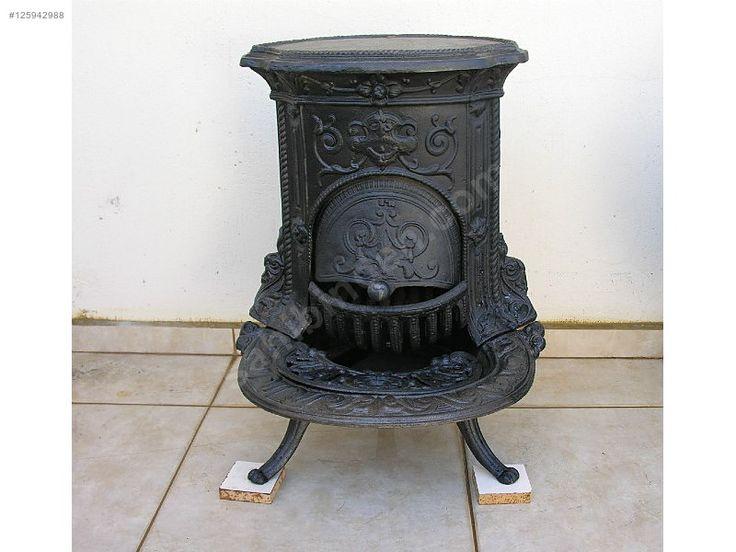 Döküm soba. Şömine keyfi veren pik döküm soba. - Antika Soba ve Çeşitli Antika Eşyalar sahibinden.com'da - 125942988