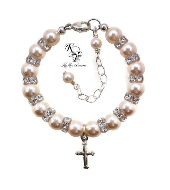 105 best BAPTISMCHRISTENING JEWELRY images on Pinterest Baptism