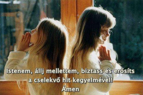 Istenem állj mellettem