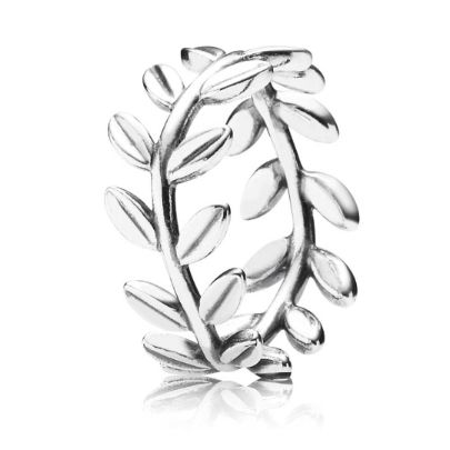 Pandora Leaves Band Ring 190922. Introducing the Pandora Leaves Band Ring from the PANDORA Autumn 2014 Collection. The elegant leaf wrap design is crafted from quality Pandora sterling silver. The Pandora ring is an excellent representation of the Autumn season.