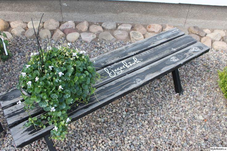 Huset och trädgården efter målningen - Ett inredningsalbum på StyleRoom av asanyberg