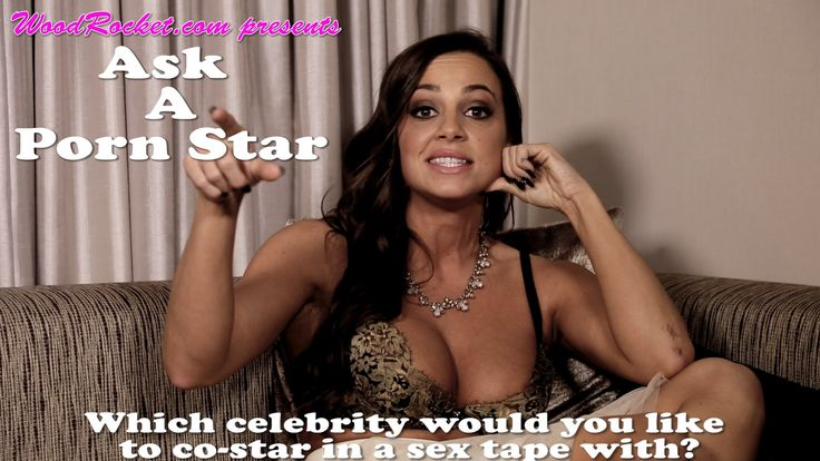 """""""Which celebrity would you like to co-star in a sex tape with?"""""""