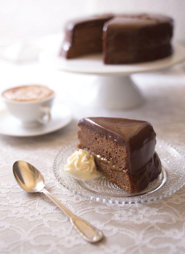 Photos pas à pas et recette du Sacher torte – Gâteau chocolat abricot de Vienne / Sachertorte recipe and DIY