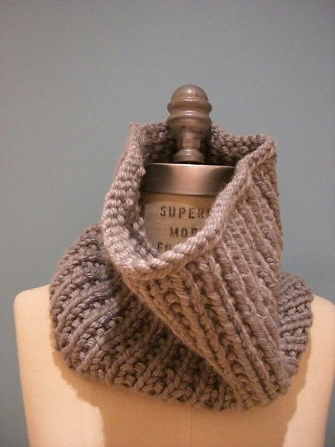 Infinity Scarf Knitting Pattern Super Bulky : 19 best Infinity scarf patterns for W images on Pinterest ...