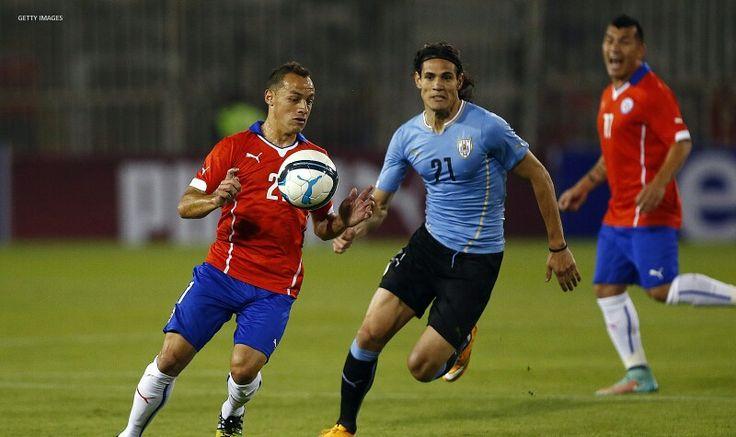 El gran Marcelo Diaz vs Uruguay