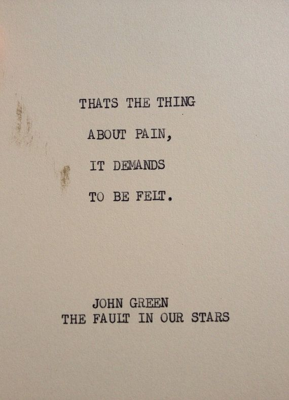 The fault in our stars>