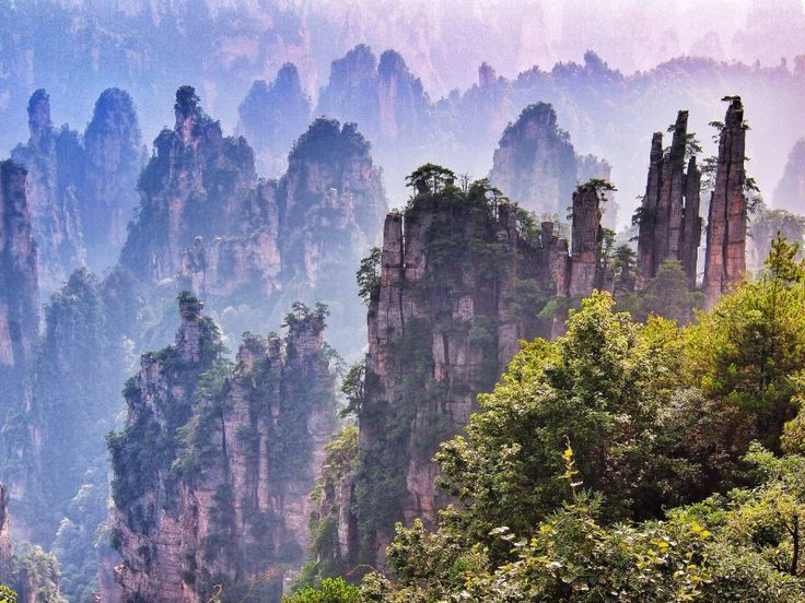 China is home to some of the most beautiful places on earth. In fact, over 40 locations in the country are currently being well preserved due to their uniqueness and ecosystem diversity.