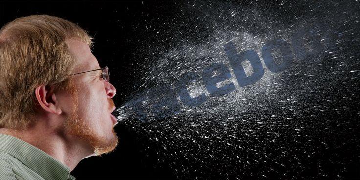 Is Facebook als een besmettelijke ziekte?