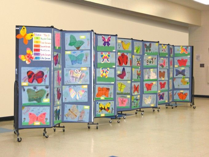 School Room Dividers Part - 29: Love The Artwork On These Room Dividers.