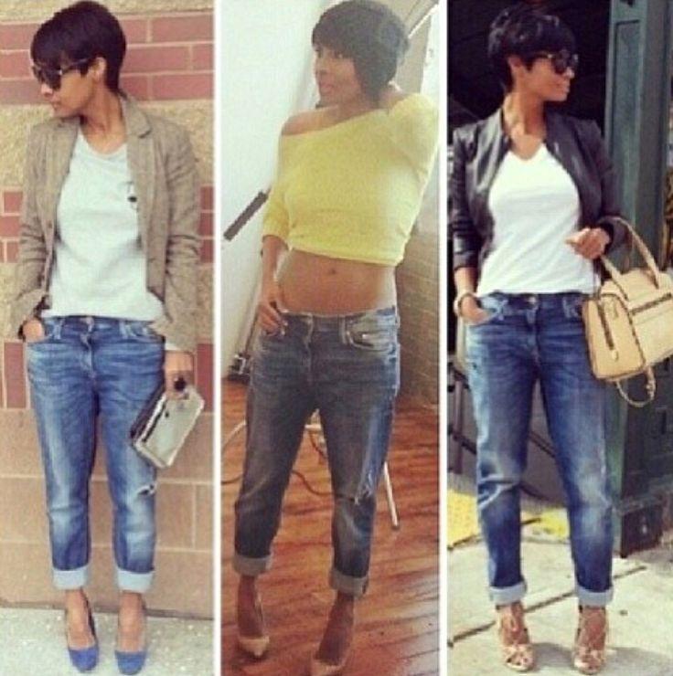 Boyfriend Jeans #fashion