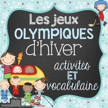 It is never too late to start learning about the Winter Olympics! This file includes a total of 39 French vocabulary cards and 6 activities with regards to the Winter Olympics sports/Les jeux Olympiques d'hiver. There are 16 vocabulary cards for