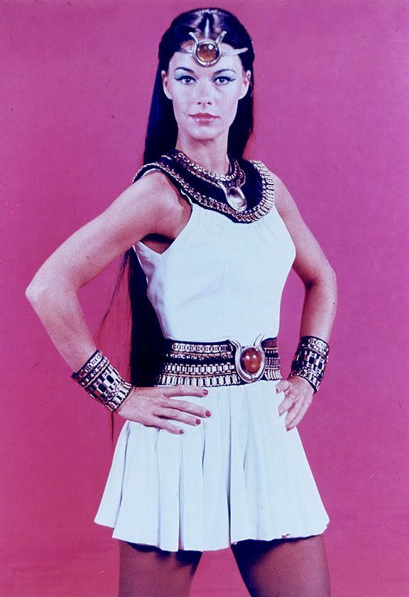 Joanna Cameron as Isis. Isis aired on CBS from September 6, 1975 to September 3, 1977