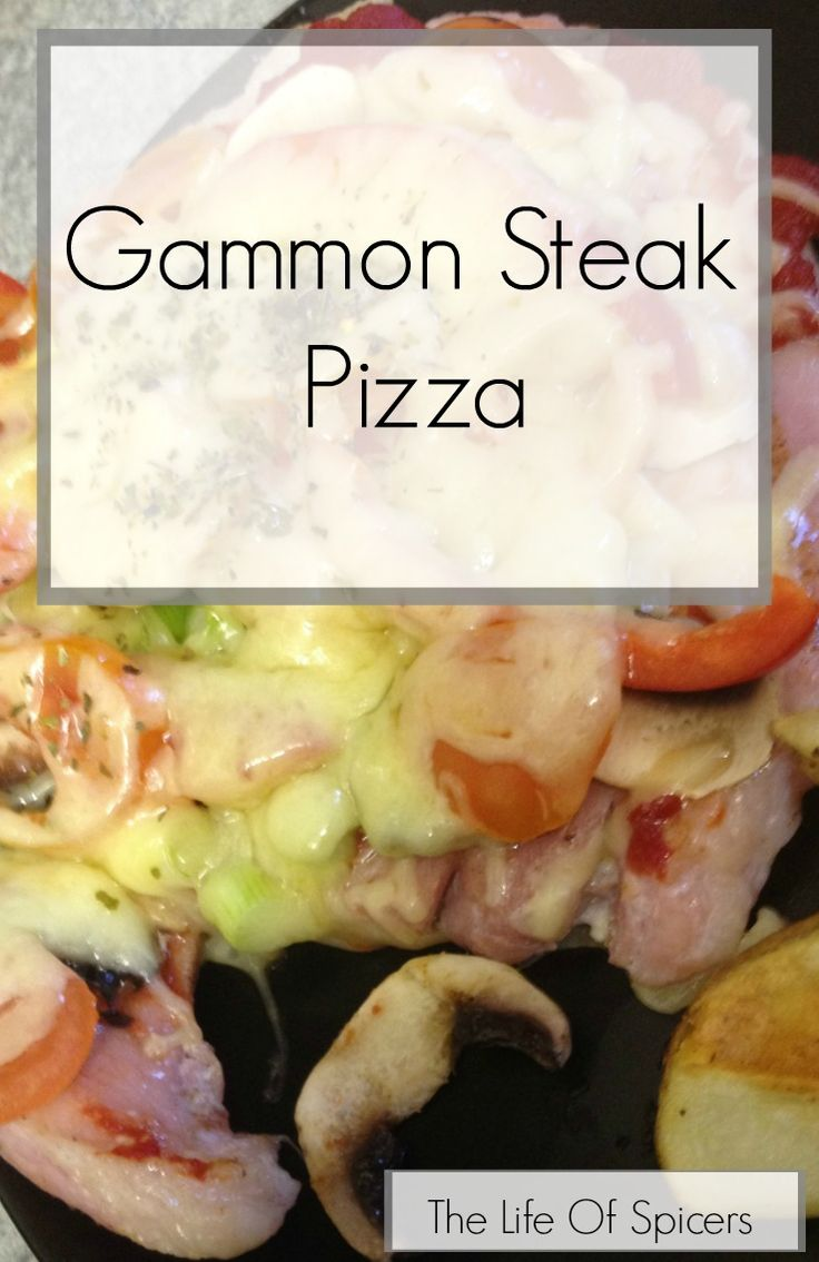 A tasty alternative to pizza if you're attempting to be healthy. Gammon steak pizza is slimming world friendly, cheap, quick and easy to make.