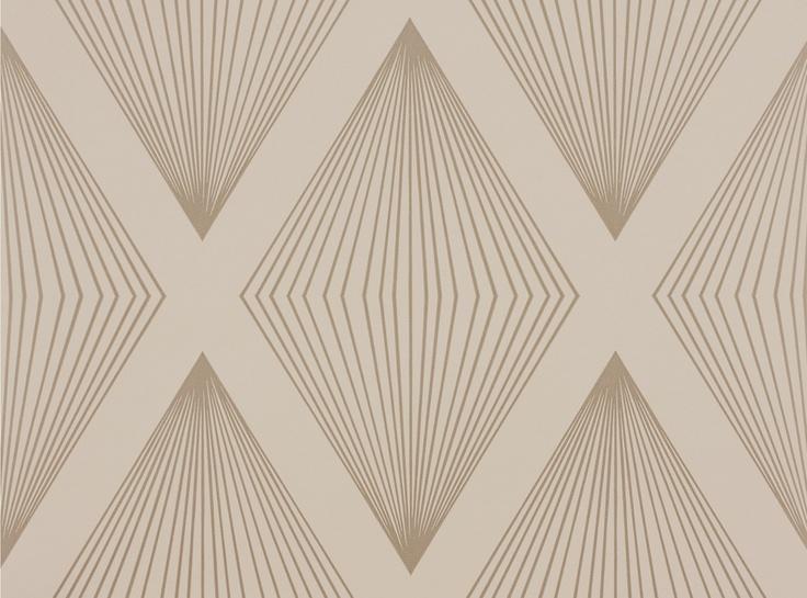 Laurito Wallcovering Calico - Romo Fabrics