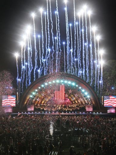 I was so cool to experience this with the family... Love summertime road trips   Boston_Annual Boston Pops Fireworks Spectacular July