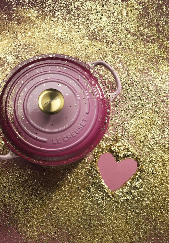 Le Creuset's Limited Edition Berry Pink
