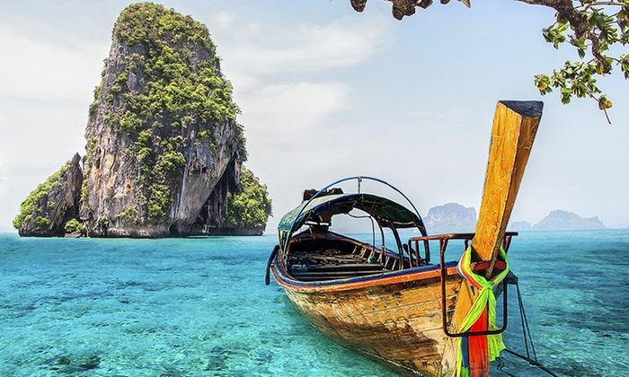 Thailand & Singapore Vacation with Airfare from Indus Travels - Phuket, Phi Phi Islands, Krabi & Singapore: ✈ 12-Day Thailand & Singapore Trip w/ Air from Indus Travels. Price/Person Based on Double Occupancy