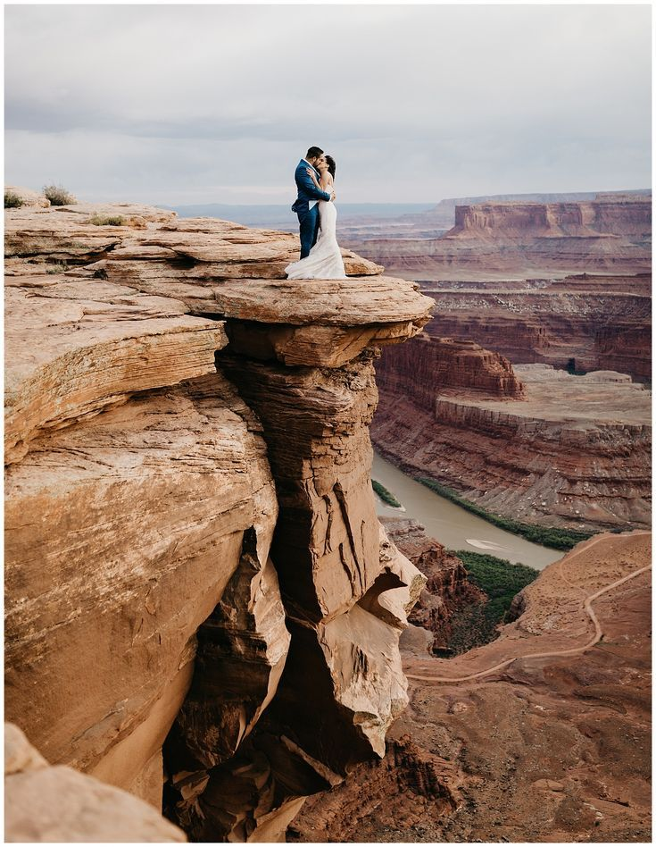 Nicole and Marco, Adventurous Bridals + First Look Session at Dead Horse Point
