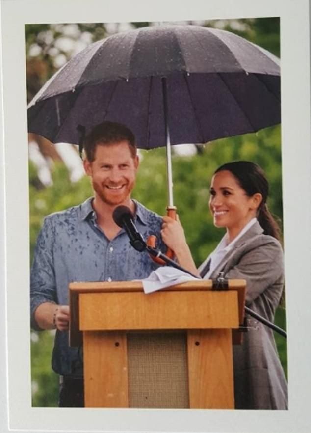 Harry And Meghan Send Out New Thank You Card Prince Harry And