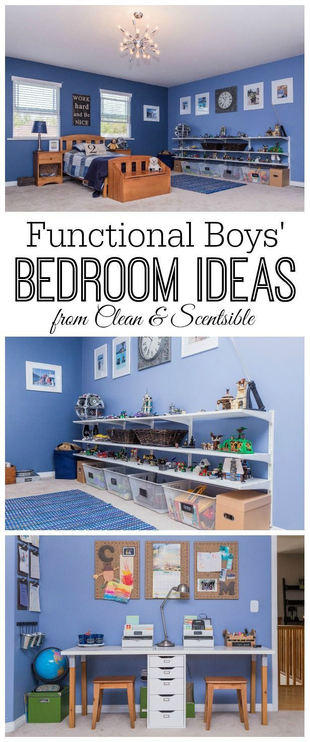 Boys Bedroom Ideas {Home Tour