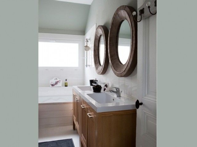 17 best ideas about peinture flamant on pinterest - Salle de bain etroite et longue ...