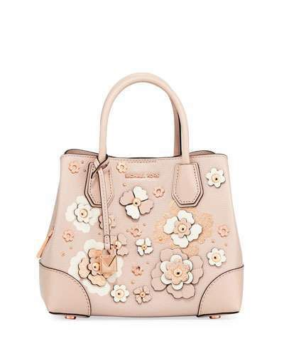 b9e9c7d3d7 MICHAEL Michael Kors Mercer Gallery Small Satchel Bag. Floral purse great  for spring and summer