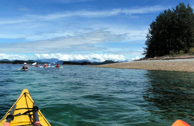 Kayak Discovery Islands BC | Kayak BC |Wildcoast