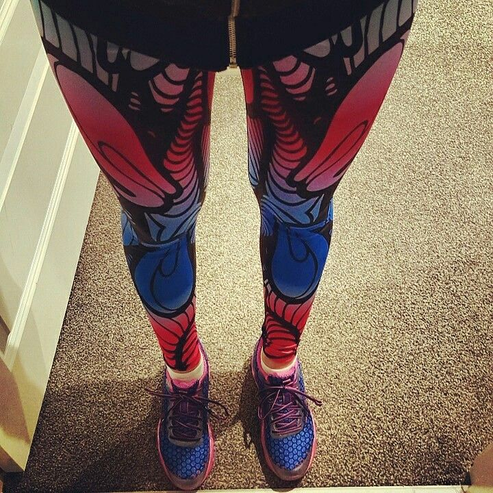 Ready for some #exercise in Energo Apparel's Optical Illusion leggings  #energoapparel #fitness #clothes #fitnessleggings #tights #health #gym #running