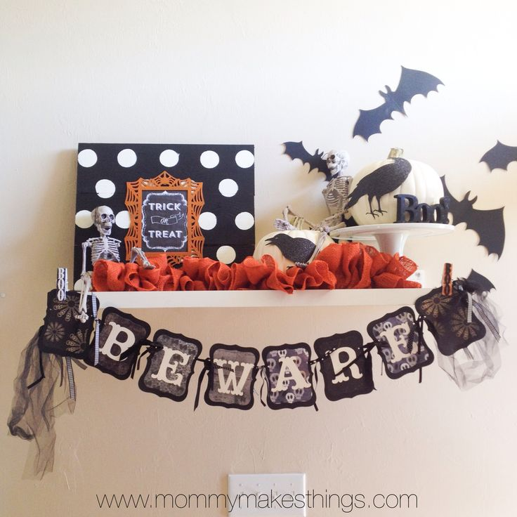 Halloween Pallet Art by Mommymakesthings.com