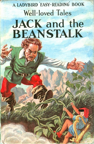 Jack and the Beanstalk    Cover illustration for Jack and the Beanstalk. Publication date of 1965