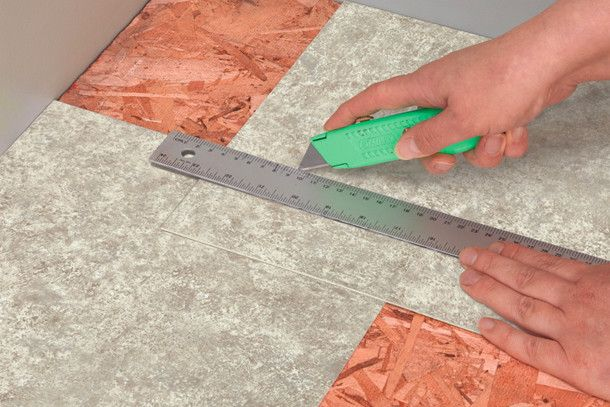 armstrong vinyl tile installation instructions