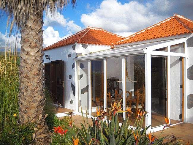 Ferienhaus La Palma - Casa Alegria - mit vorgebautem Wintergarten
